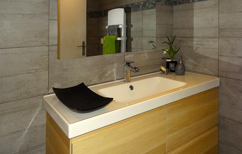 Appartement meublé Yvoire salle de bain