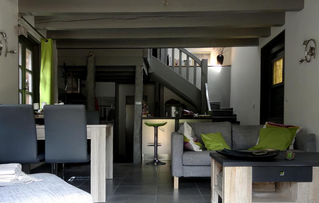 Yvoire location meublé séjour ouvert