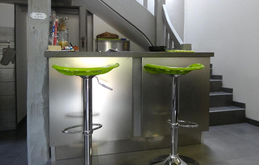 Yvoire Haute-Savoie meublé cuisine ouverte