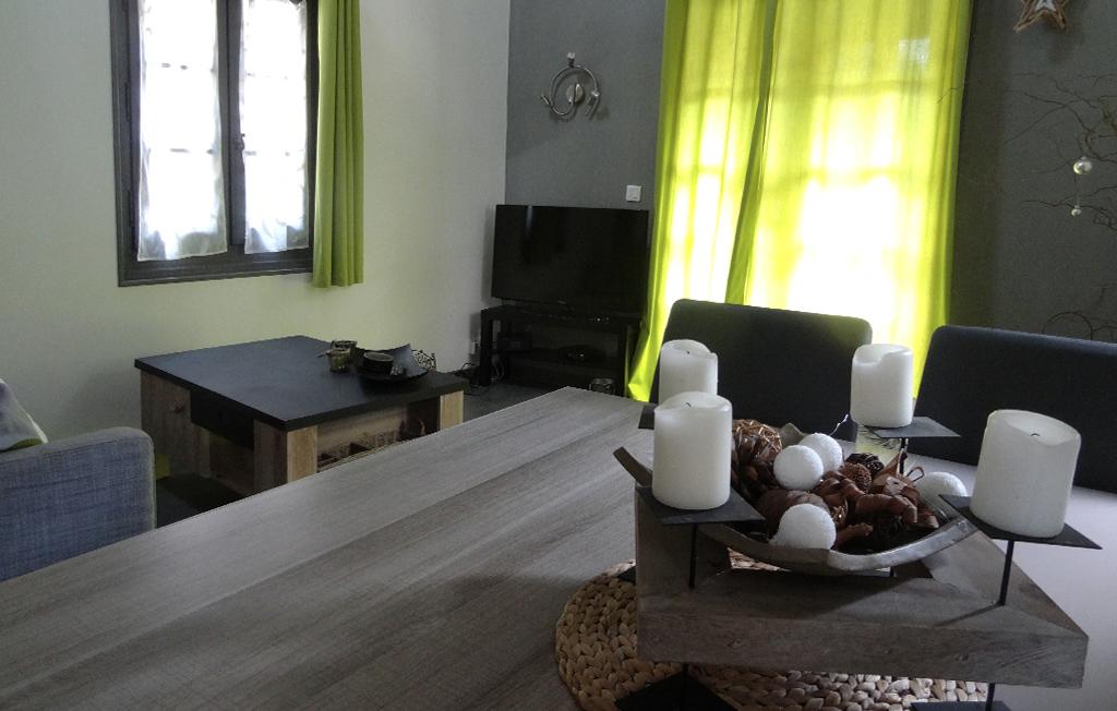 Lac Léman meublé tourisme salon télévision